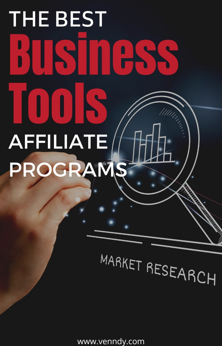 The best affiliate programs for business tools and software