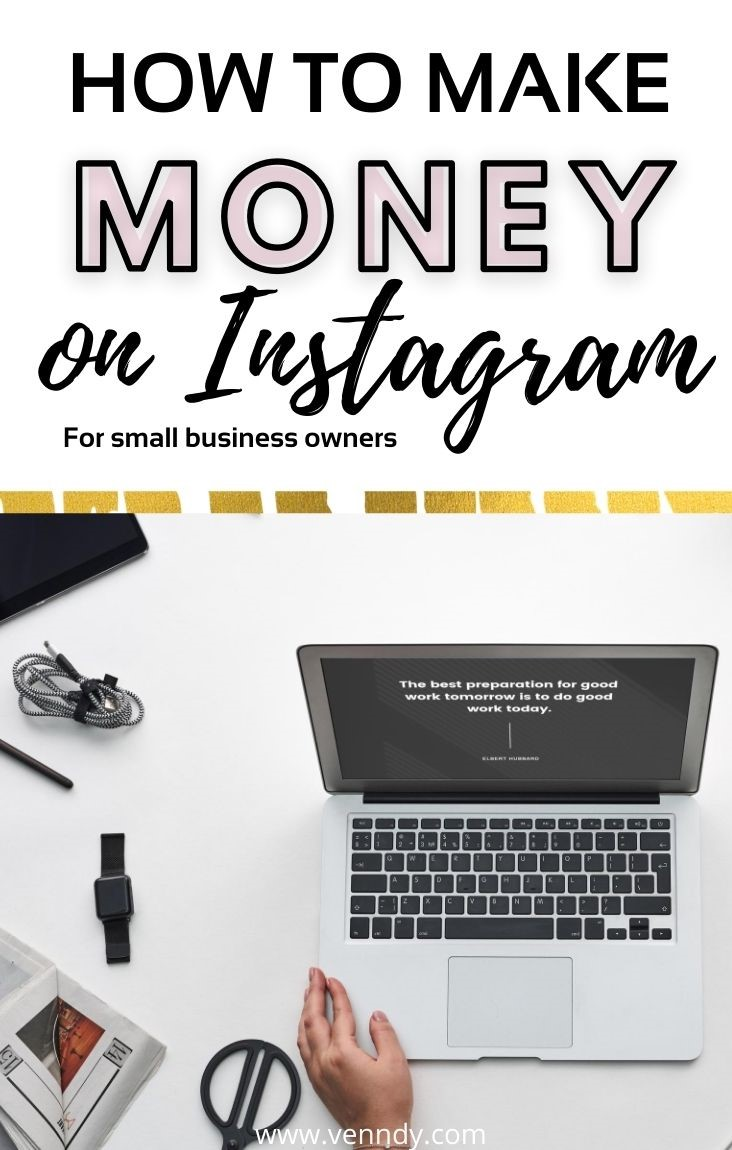 How to make money on Instagram for small business owners